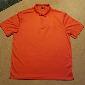 Auburn Port Authority XL polo shirt orange